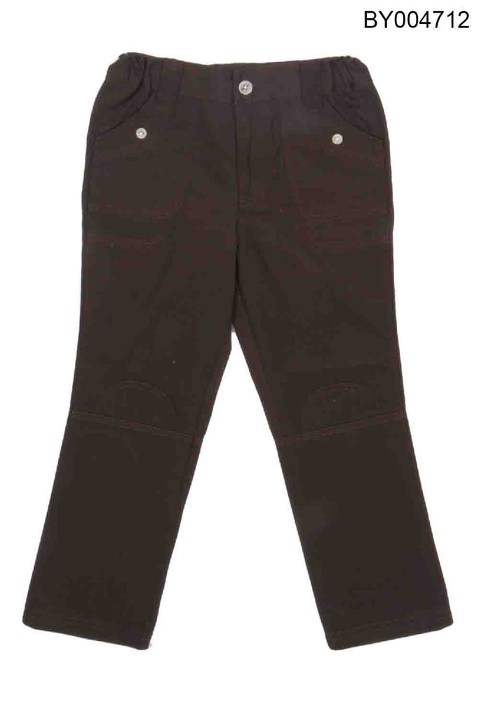 YOUNG BIRDS-BEAUTIFUL BROWN COLOUR PANT  FOR BOYS - BY004712