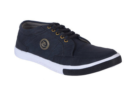 Blue Color Denim Men Shoe - Blackbakkal