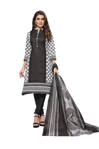 Black Color Cotton  Stitched Salwar  - Blackbeauty-19002