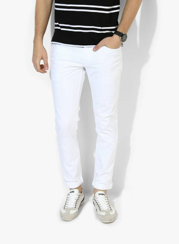 8f2a00121e1 Buy Lawson Skinny Men s White Cotton Jeans