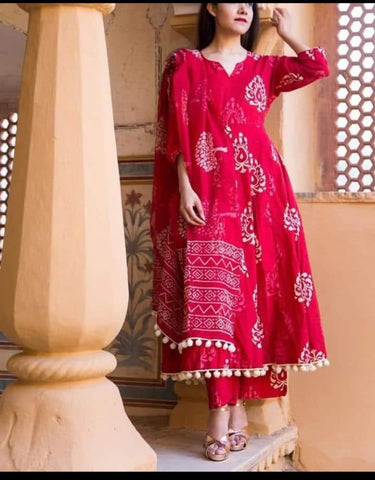 Rani Color Cotton Women's Stitched Kurti - CD-CD-16