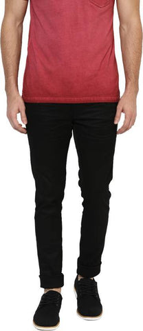 Lawson Skinny Men's Black Cotton Satin Jeans - CD22