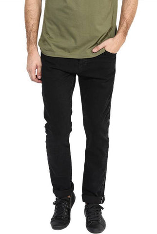 Lawson Skinny Men's Black Cotton Satin  Jeans - CD55