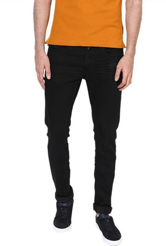 Lawson Skinny Men's Black Cotton Satin  Jeans - CD66