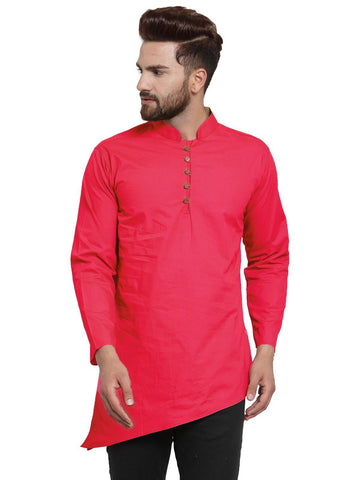 Gajri Color Cotton Men's Shirt  - CM-KR30