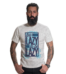 Buy Grey Melange Color 160 GSM And Cotton Mens Tshirt