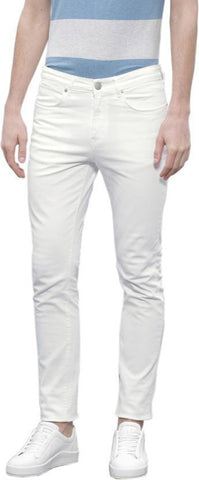 Halogen Skinny Men's White Denim Jeans - CopperStone-Jeans-BNG0010