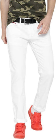 Halogen Skinny Men's White Denim Jeans - CopperStone-Jeans-BNG005
