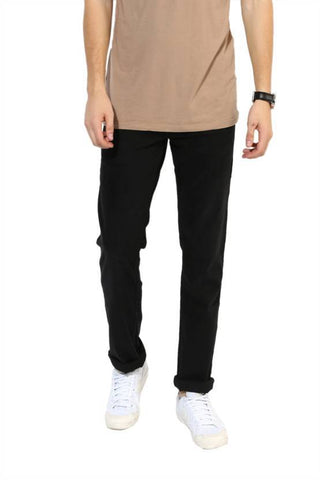 Lawson Skinny Men's Black Denim Jeans - CopperhitJeans-007