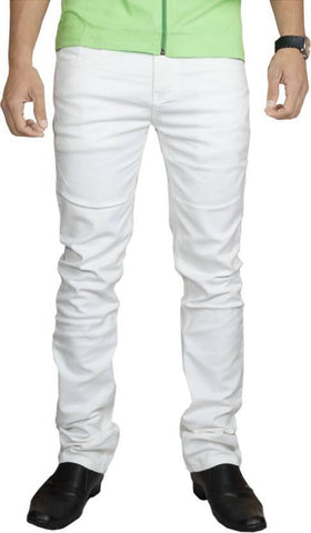 Lawson Skinny Men's White Cotton Denim Jeans - Copperstone-Jeans-ULS001