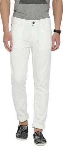 Lawson Skinny Men's White Denim Jeans - Copperstone-ULS003