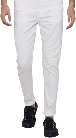 Lawson Skinny Men's White Denim Jeans - Copperstone-ULS004