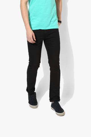 Lawson Skinny Men's Black Cotton Denim Jeans - CopperstoneBlack06