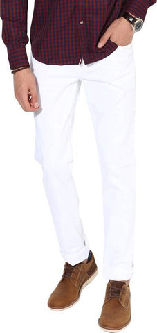 Lawson Skinny Men's White CottonSpandexDenim Jeans - CopperstoneWhiteLawson10
