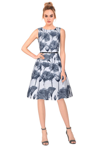 Gray Color Crepe Women's Dress - D-135_Parle_Gray