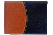 Black Color Velvet Men's Wallet - D-WLT