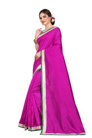 Rani Color Zoya Art Silk Saree - D.NO.-1755