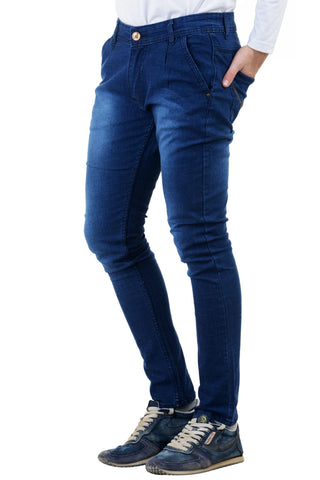 Dark Blue Color Denim Mens Jeans - DC-J-DBLUE