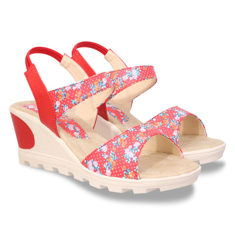 Pink Color Nappa Leather Sandal - DDWF-B-20-Pink