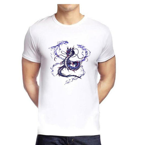 White Color polyester Men's Tshirt - DIGI6020