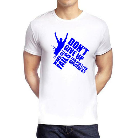 White Color polyester Men's Tshirt - DIGI6026
