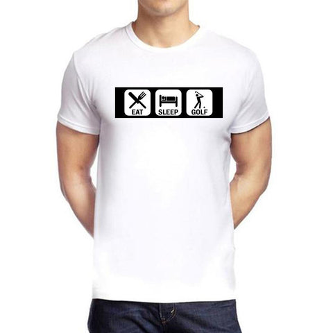 White Color polyester Men's Tshirt - DIGI6080
