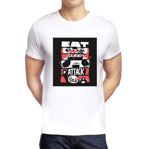 White Color polyester Men's Tshirt - DIGI6086