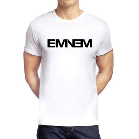 White Color polyester Men's Tshirt - DIGI6146