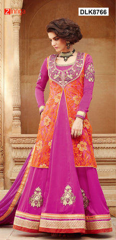 DREAMLIFESTYLE-Women's Beautiful Semi-Stitched Salwars -DLK8766