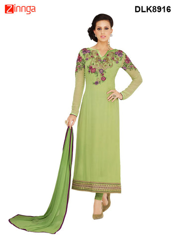 DREAMLIFESTYLE-Women's Beautiful Semi-stitched Salwar - DLK8916