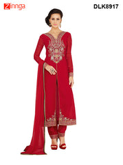 DREAMLIFESTYLE-Women's Beautiful Semi-stitched Salwar - DLK8917