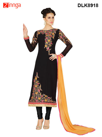 DREAMLIFESTYLE-Women's Beautiful Semi-stitched Salwar - DLK8918