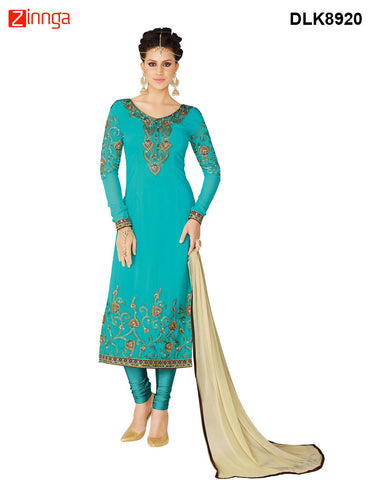 DREAMLIFESTYLE-Women's Beautiful Semi-stitched Salwar - DLK8920