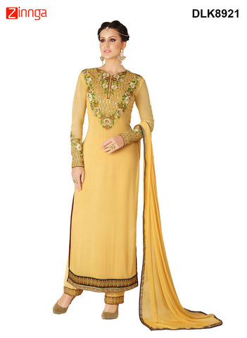 DREAMLIFESTYLE-Women's Beautiful Semi-stitched Salwar - DLK8921