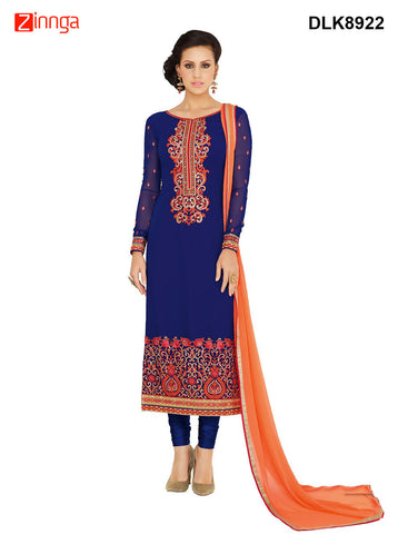 DREAMLIFESTYLE-Women's Beautiful Semi-stitched Salwar - DLK8922