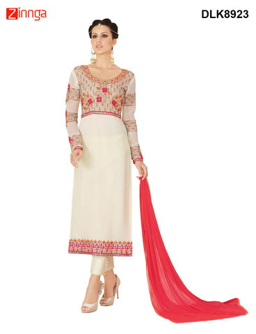 DREAMLIFESTYLE-Women's Beautiful Semi-stitched Salwar - DLK8923