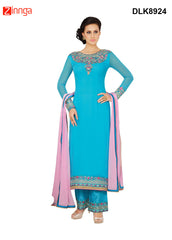 DREAMLIFESTYLE-Women's Beautiful Semi-stitched Salwar - DLK8924