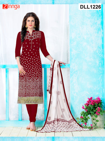 DREAMLIFESTYLE-Women's Beautiful Semi-Stitched Salwars - DLL1226