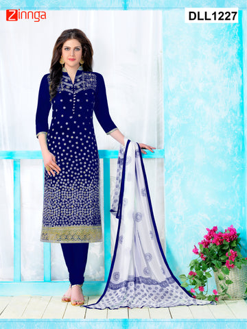 DREAMLIFESTYLE-Women's Beautiful Semi-Stitched Salwars - DLL1227