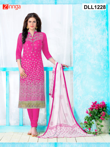 DREAMLIFESTYLE-Women's Beautiful Semi-Stitched Salwars - DLL1228
