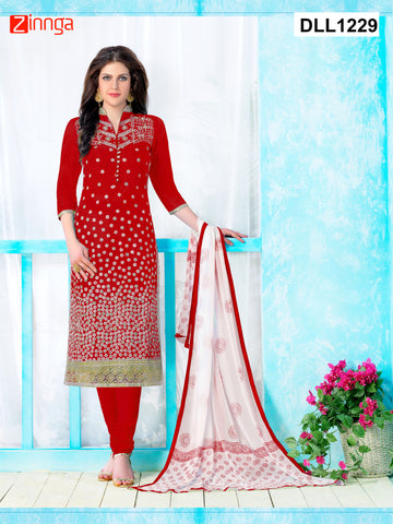 DREAMLIFESTYLE-Women's Beautiful Semi-Stitched Salwars -  DLL1229