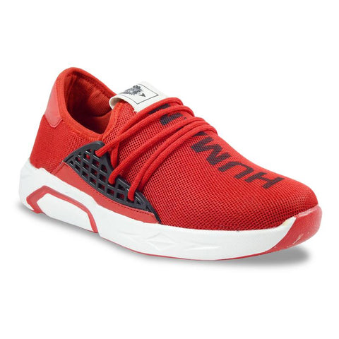 Red Color Imported Mesh Men's Sports Shoes - GLX_1