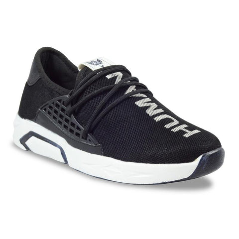 Black Color Imported Mesh Men's Sports Shoes - GLX_2