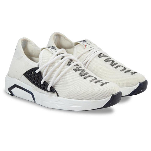 White Color Imported Mesh Men's Sports Shoes - GLX_4