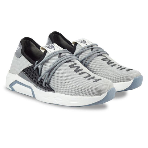 Grey Color Imported Mesh Men's Sports Shoes - GLX_5