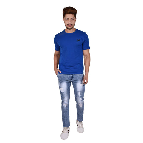 Blue Color Denim Men's Jeans - DSC-7357