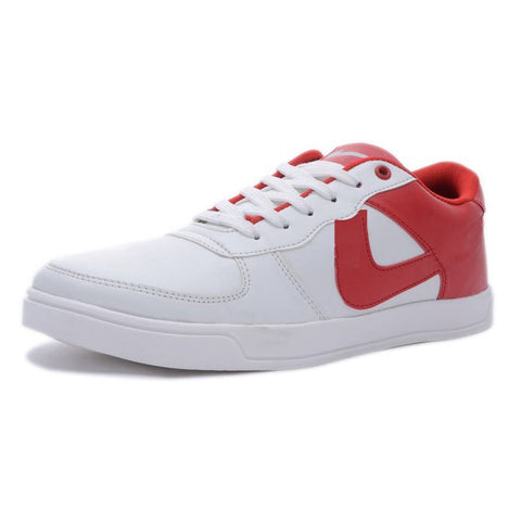 Red Color Mesh Men's Sneaker Shoes - DUMMPY-RED