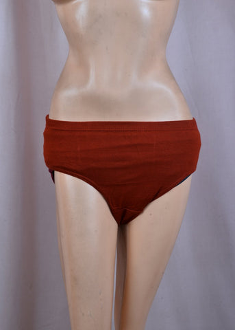Maroon Color Cotton Women's Plain Panty - DVS-PT206