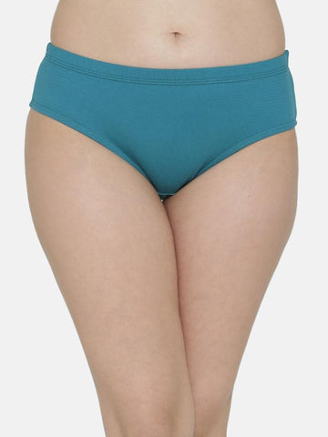Blue Color Cotton Women's Plain Panty - DVS-PT207