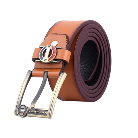 Tan Color Ragzin Men's Belt - DVS_BT011